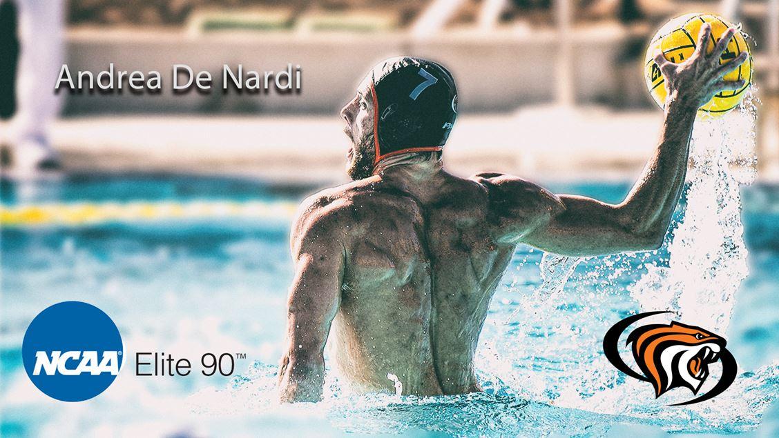 Pacific's Andrea De Nardi Receives Men's Water Polo Elite 90 Award