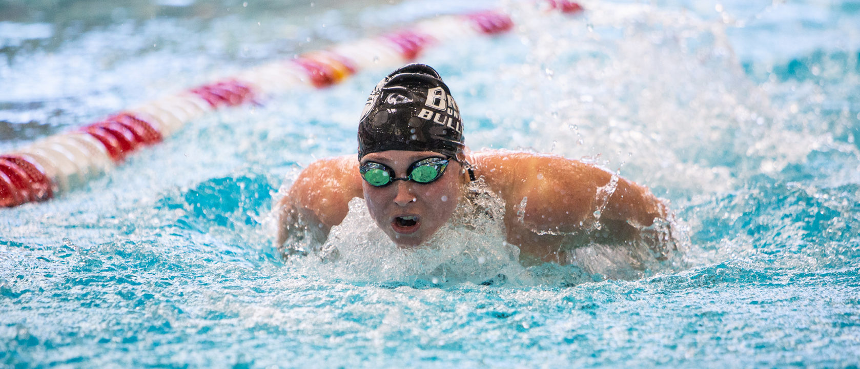 2021 NEC Championships: Bryant Holds Team Leads Through Swimming Day 1