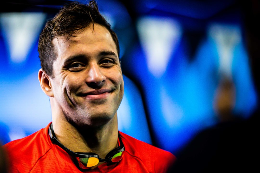 South African Chad Le Clos Kicks Off 2020 In Stellenbosch