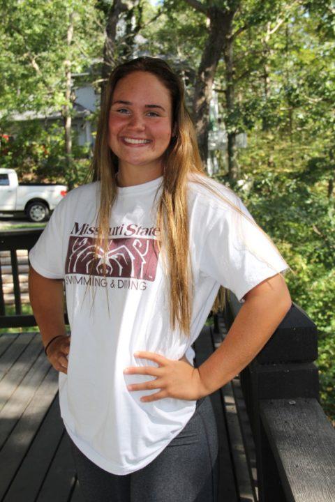 Freestyle Sprinter Claire vanBiljon Verbally Commits to Missouri State for 2020