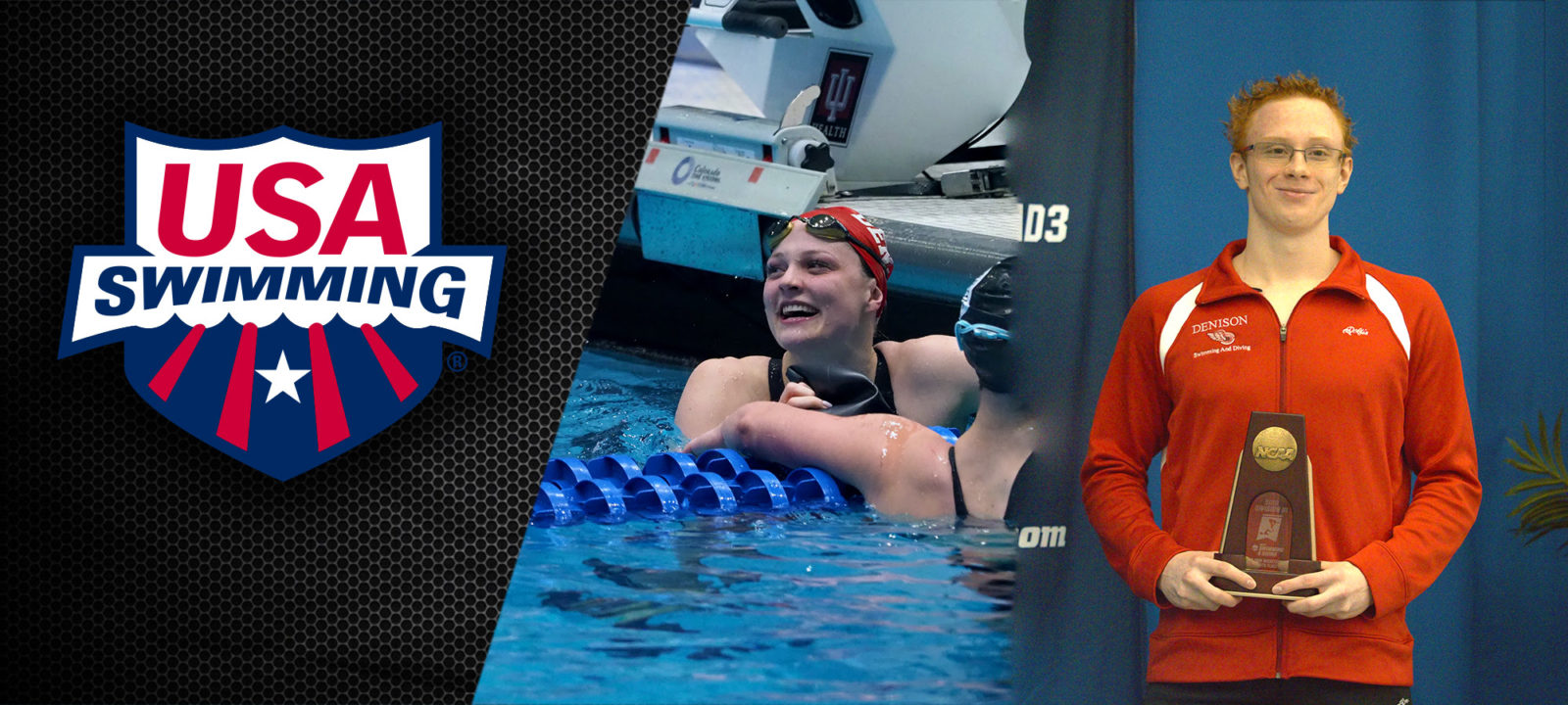 Denison Swimmers Kustritz, Kurlich Qualify for US Olympic Trials