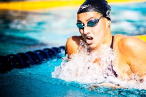 Ema Rajic Posts Cal Record with 58.93 100 Breast, Stadden hits 1:49.7 200 Back