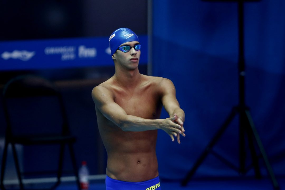 Guilherme Costa Breaks 2nd South American Record in 2 Days at U.S. Open