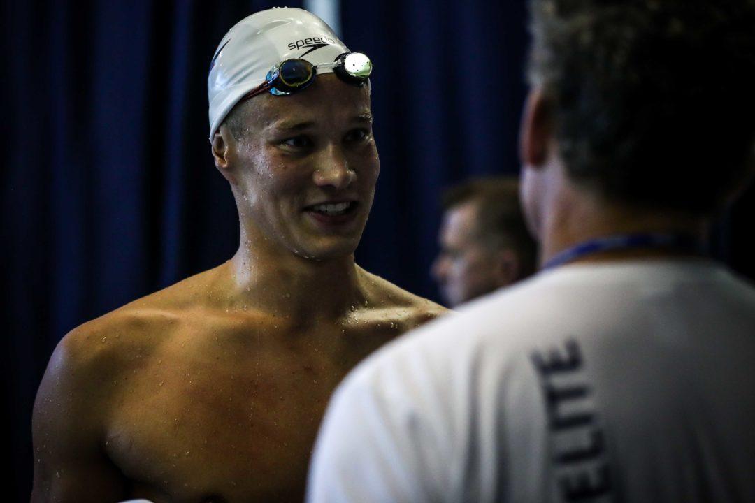 Pro Swim Des Moines: Jacob Heidtmann mit Bestzeit im Finale über 200 m Lagen