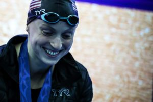 "Katie Ledecky Comments on ""Milestone"" First Race Back in San Antonio (Video)"