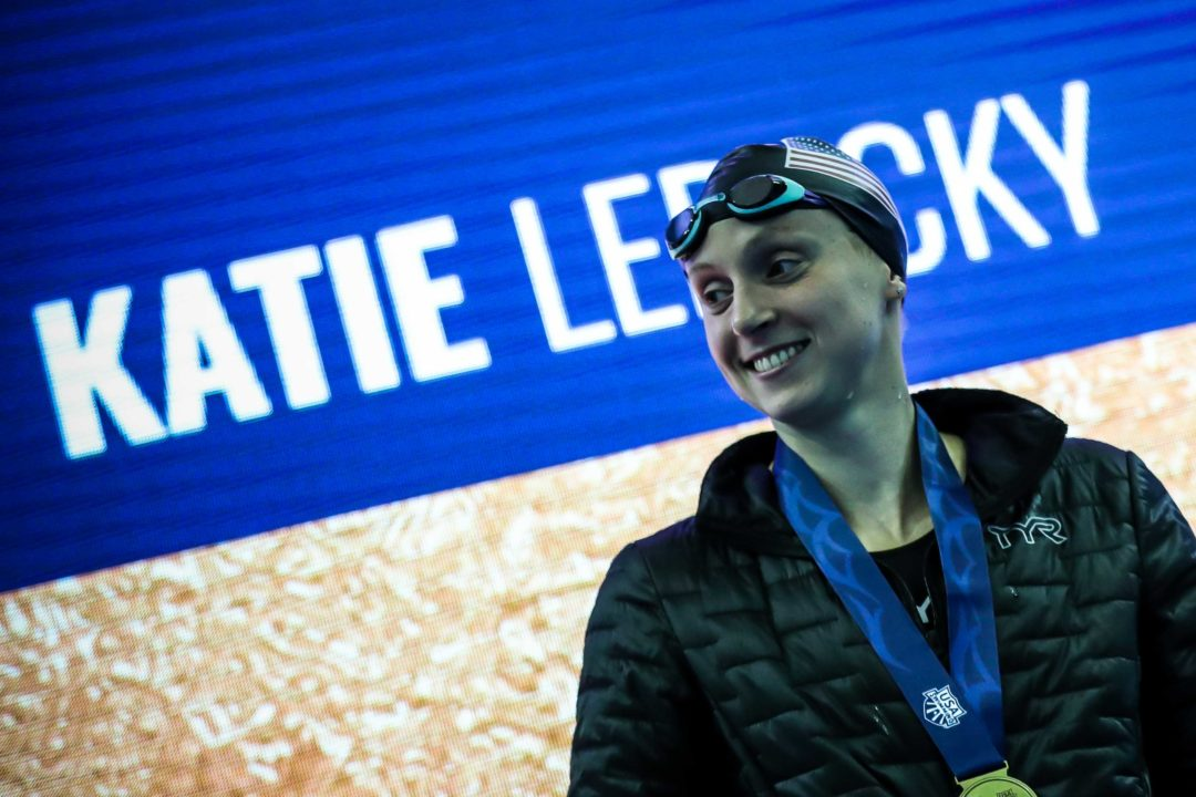 """Phelps & Ledecky Finish in Top 5 of AP """"Athlete of the Decade"""" Voting"""