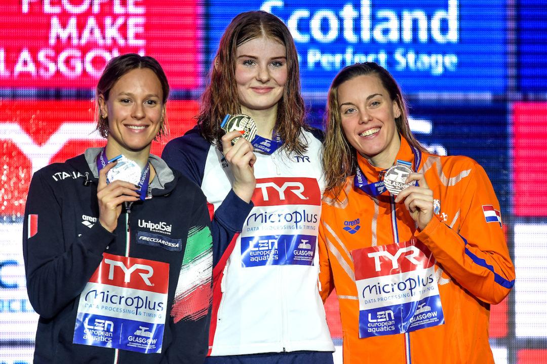 Europeo día 4: Freya Anderson gana los 200 libre, Hosszu suma 4 oros