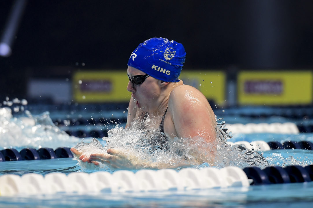 Lilly King Awarded $15,000 Bonus for Undefeated 2019 ISL Season