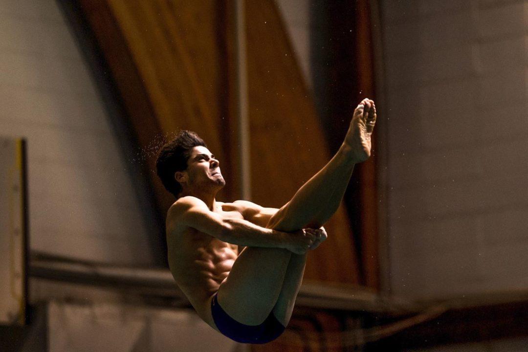 LSU's Vazquez Bas Closes Auburn Diving Invite With Platform Win