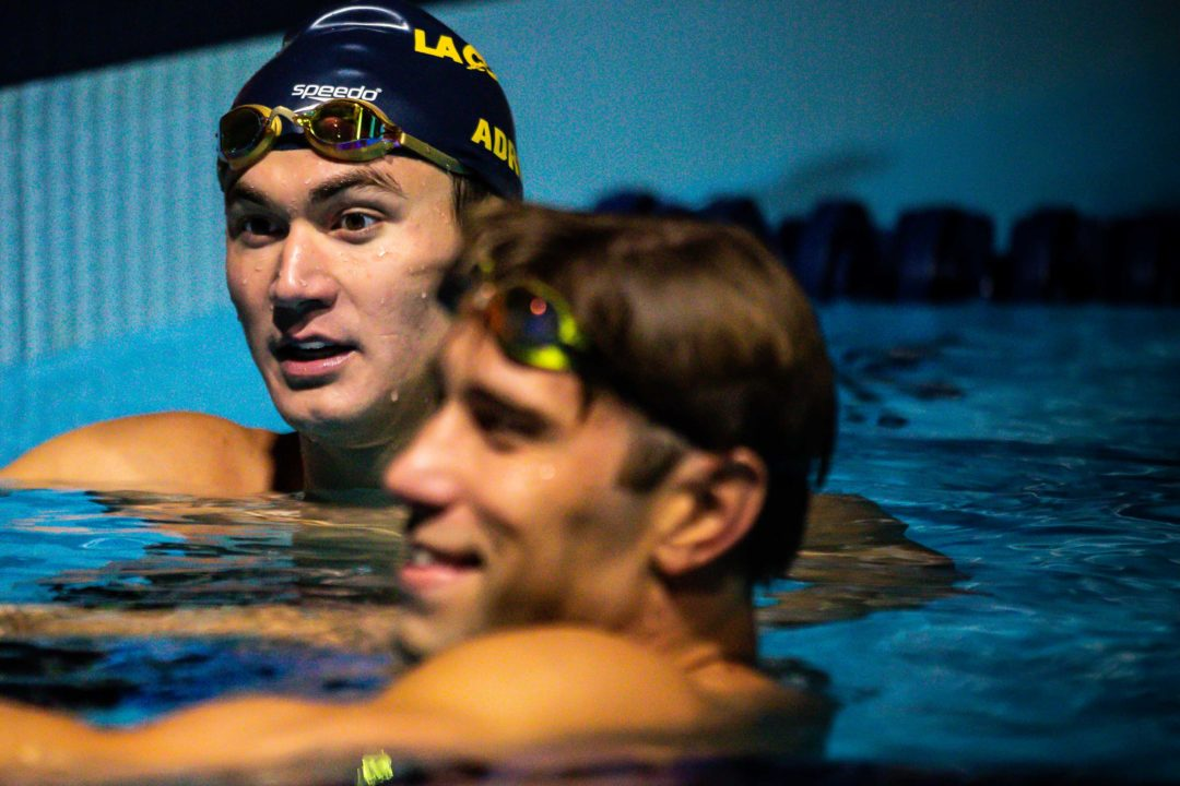 Swimming From Home: Nathan Adrian on Acknowledging What You Don't Want to Do