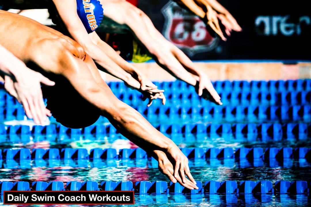 Daily Swim Coach Workout #45