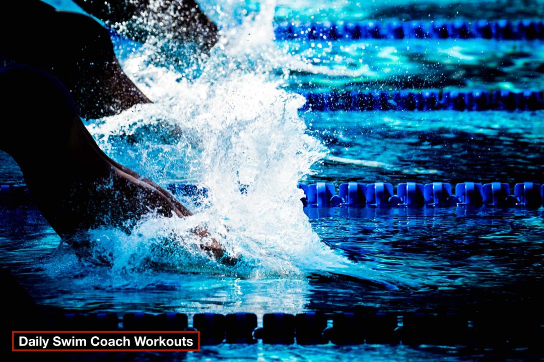 Daily Swim Coach Workout #138