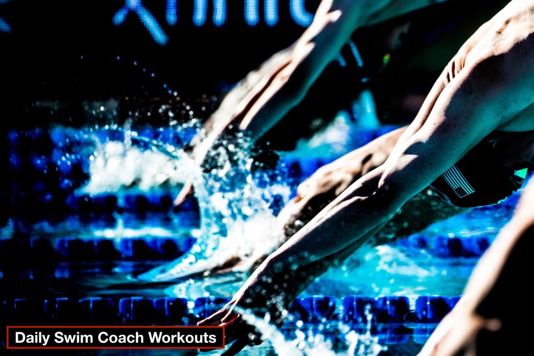 Daily Swim Coach Workout #75
