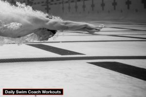 Daily Swim Coach Workout #345