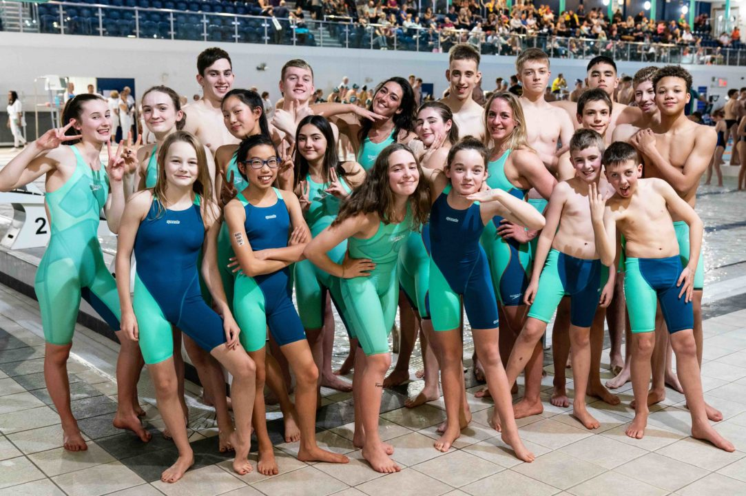 Speedo Helps Local Club Turn Green for National Swimming League Final