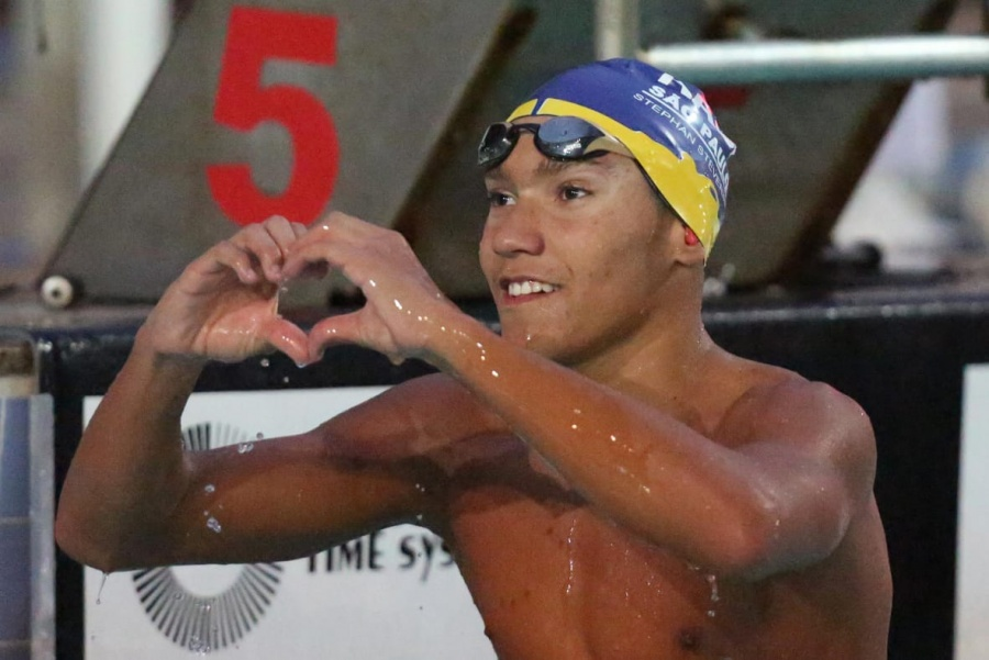 15-Year Old Stephan Steverink Adds 4:21 in 400 IM to Big Results in Brazil