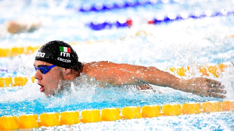 Thomas Ceccon Record Italiano Cadetti 50 Farfalla 23.29