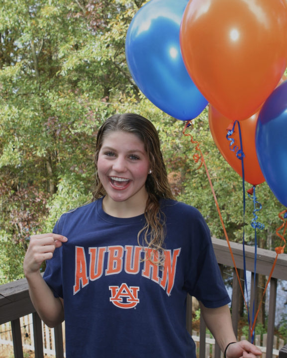 Georgia High School Double State Champion Abby McCulloh Commits to Auburn