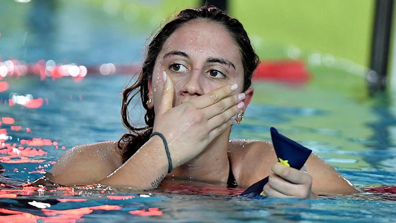 Simona Quadarella Takes 6 Seconds Off Italian Record in 1500 Free
