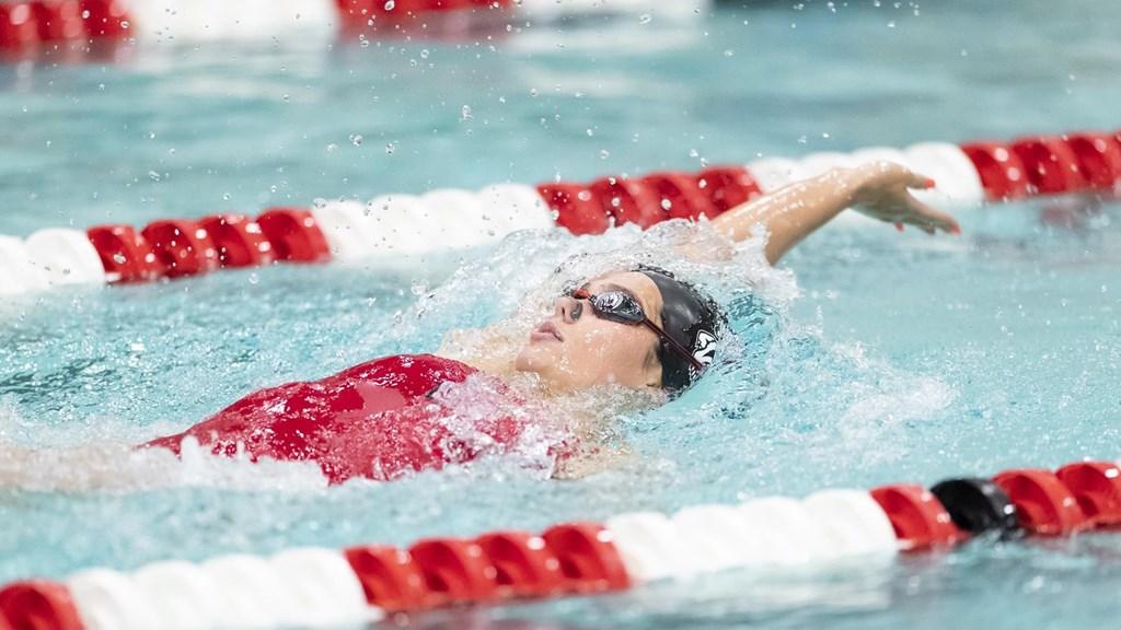 Beata Nelson Named Big Ten Women's Swimmer of the Week