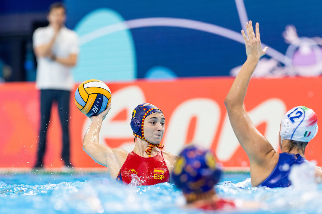 Spain Smashes Italy On Day 2 Of Women's Water Polo European Championships