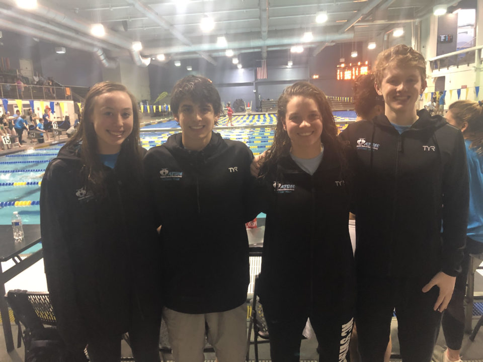 ATOM Downs Two Mixed Relay National Age Group Records