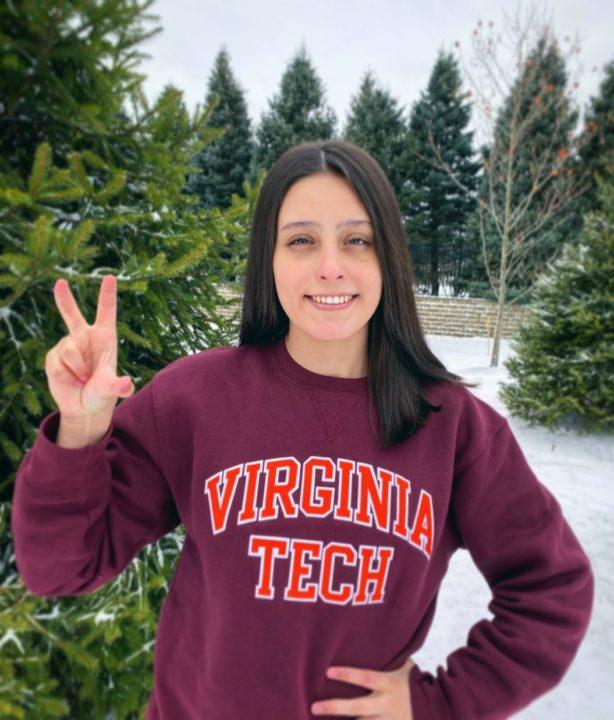 Backstroker Alex Eastmond Joins Virginia Tech Class of 2021
