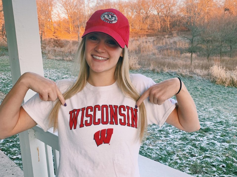 MAC Breaststroker Ally Silvestri Will Stay In State With Verbal To Wisconsin
