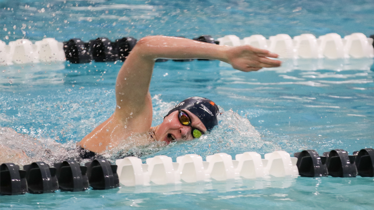 Anna Metzler Downs Two Pool Records As New Hampshire Rolls Past Binghamton