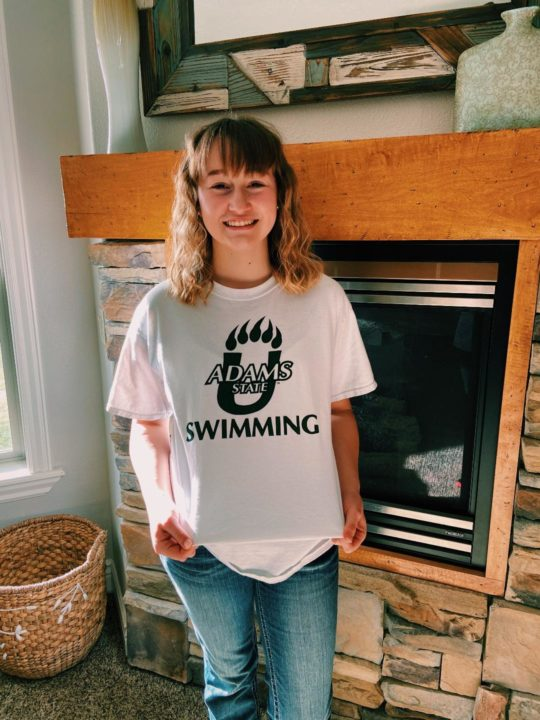 Idaho 4A Backstroke State Champ Aspen Harris Commits to Adam State University
