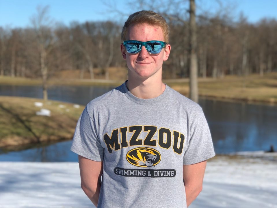 Franklin Backstroker Cade Oliver Commits To Missouri For Fall of 2021