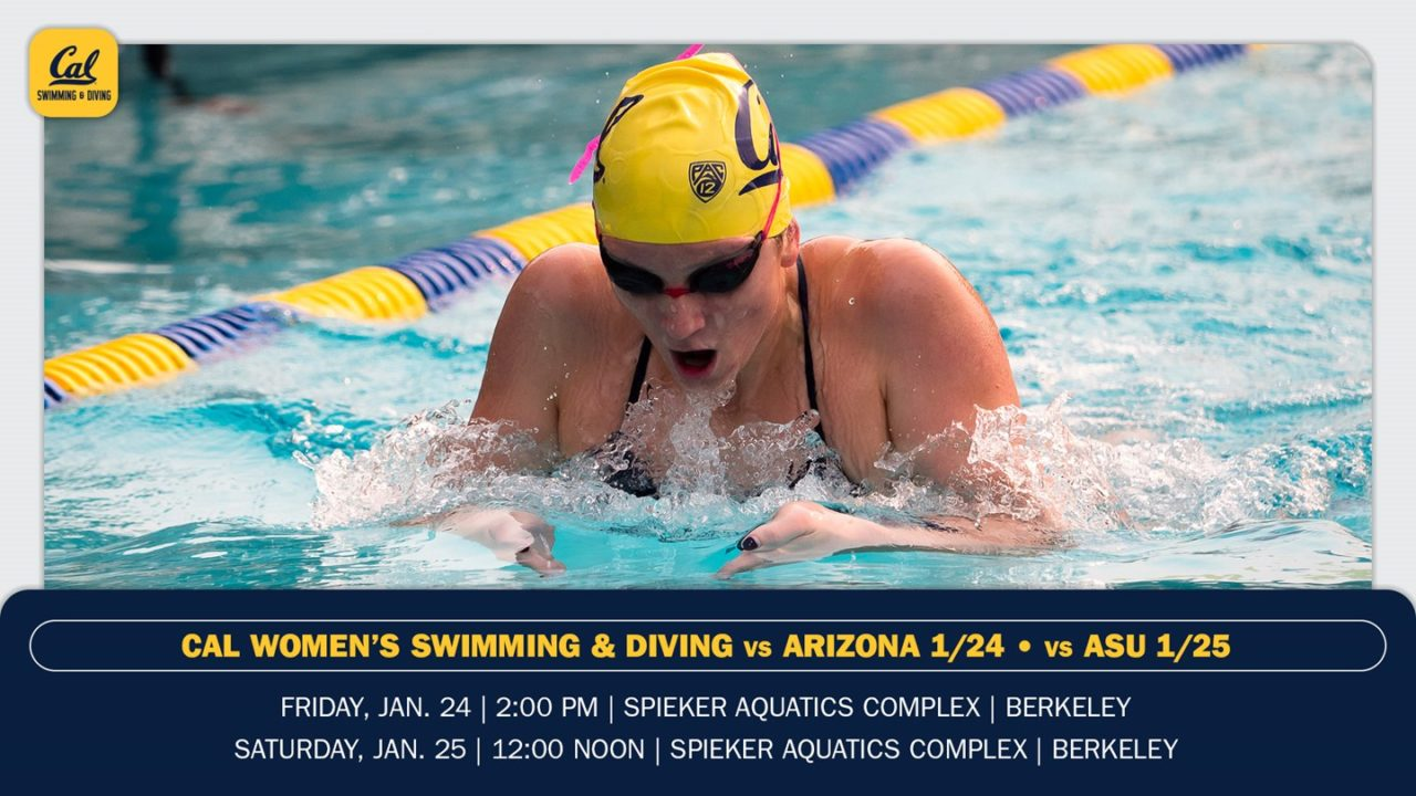 Cal Women Set To Host Arizona, ASU This Weekend