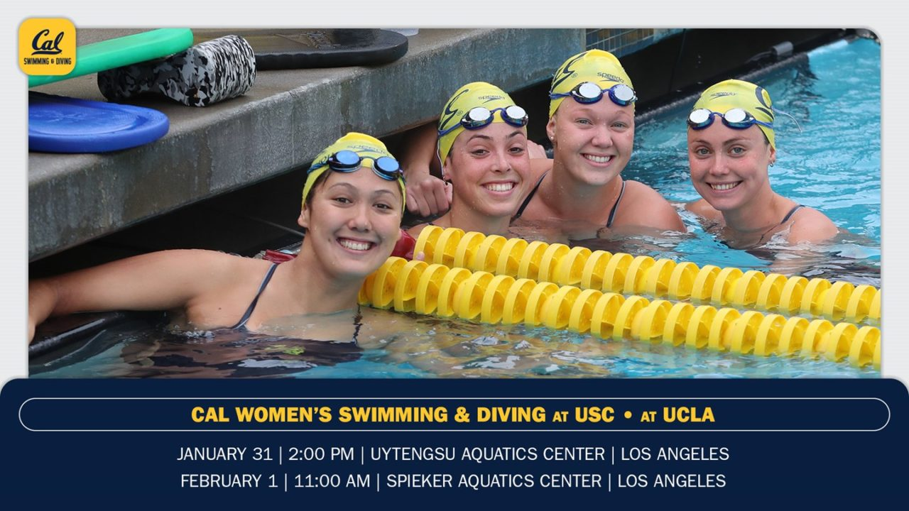 Cal Women Travel To Take On USC, UCLA