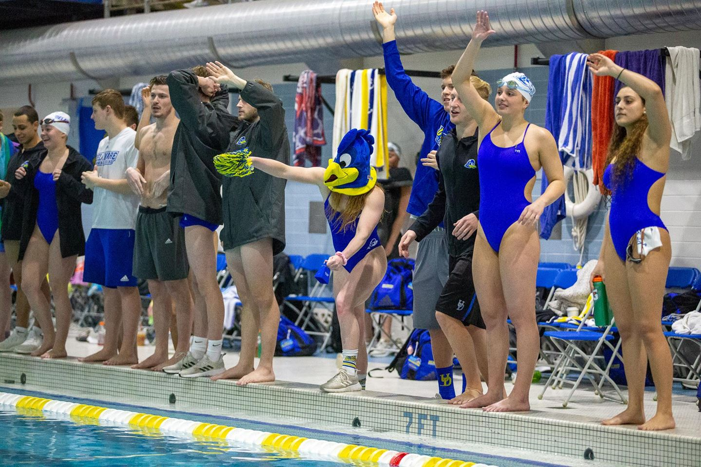 Delaware, Drexel Women Tie, Top Northeastern; Dragon Men Defeat Blue Hens