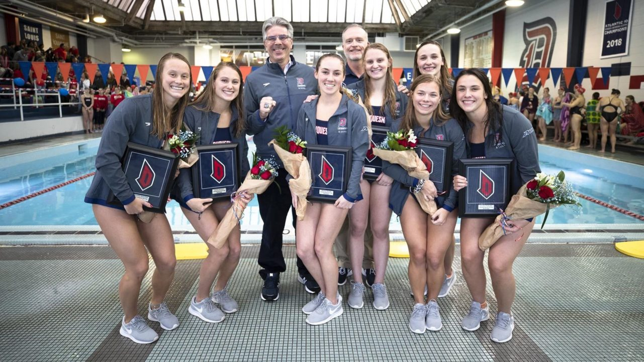 Duquesne Women Celebrate Senior Day With Win Over Saint Francis