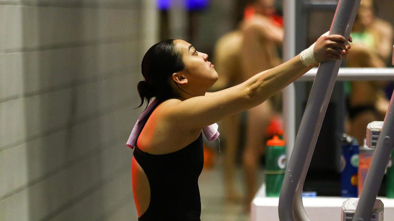 Georgia's Lim, Virginia's Creedon Close Tennessee Diving Invite With Wins