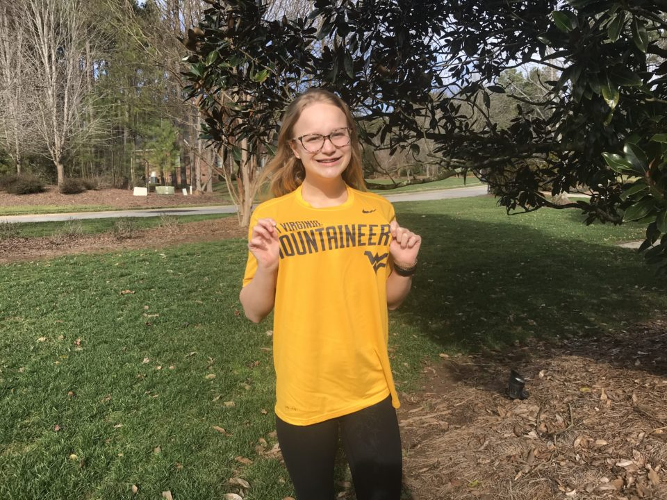 North Carolina State Champion Emily Knorr Commits to West Virginia