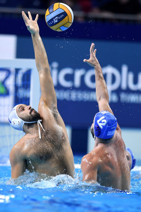 Italy Opens With Important Win Over Greece At European Water Polo Championships
