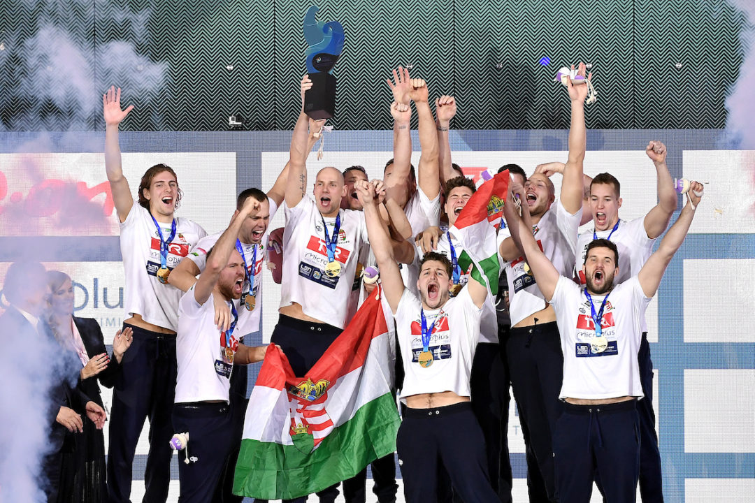 Hungarian Men Return To Glory After 21 Years At Water Polo Euros