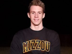 Mizzou Frosh Daniel Wilson Swims 45.98 Fly, No. 5 in Program History