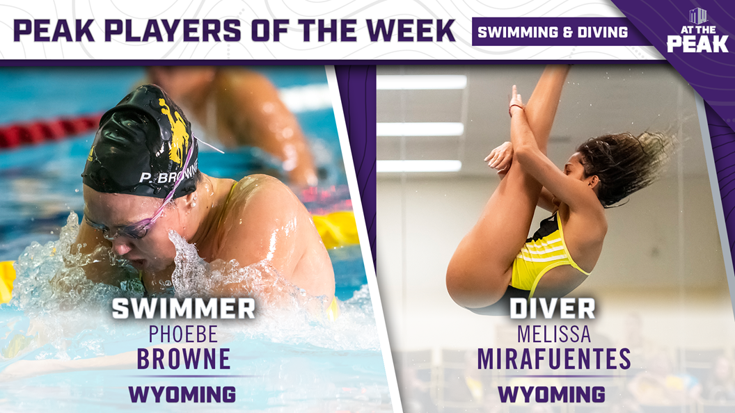 Wyoming Sweeps Weekly Mountain West Awards