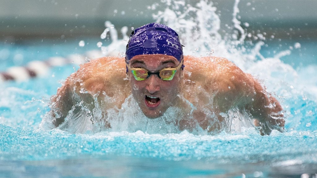 Burdisso Splits 43.0, Wins Twice as NU Men, Minn Women Win B1G Triple Dual