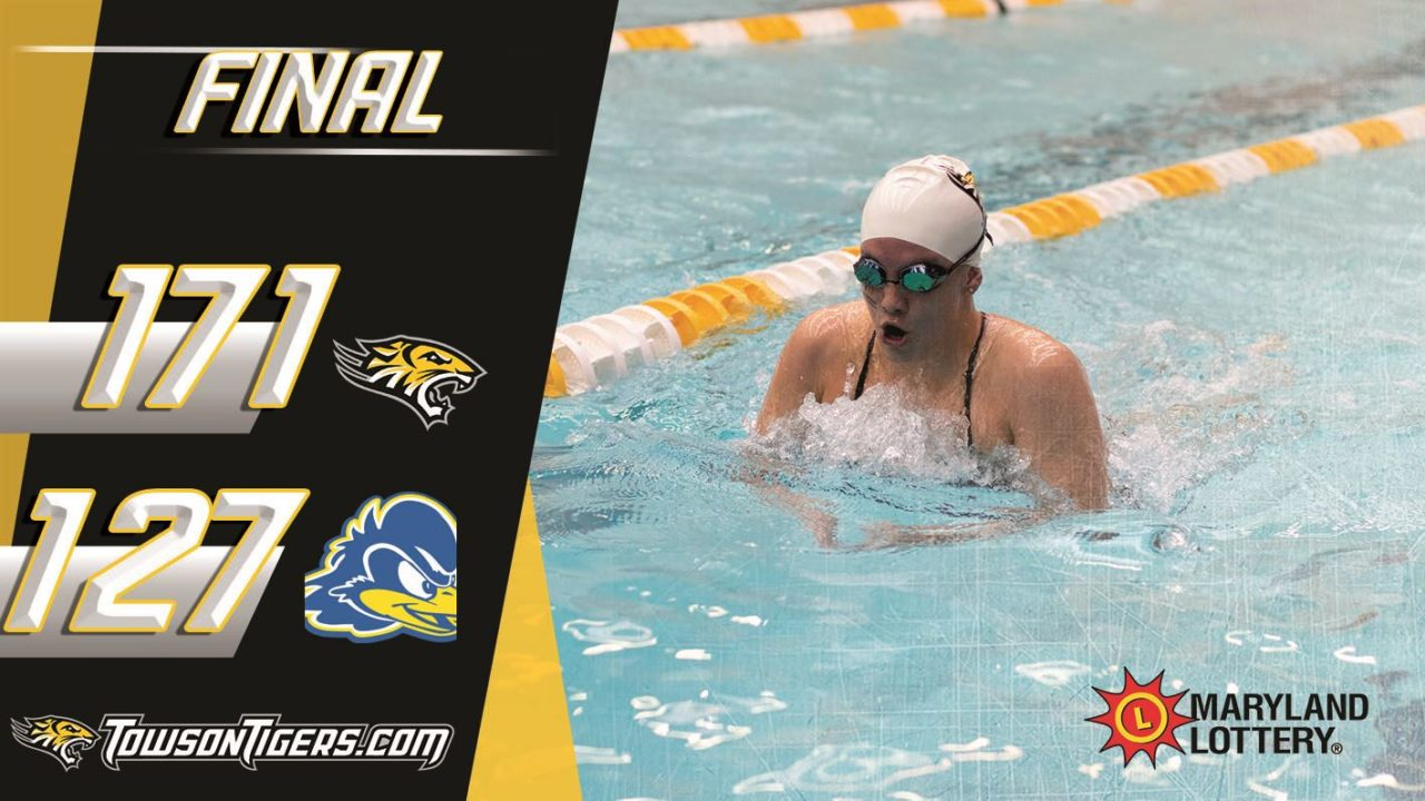 Towson Sweeps Delaware On Senior Day