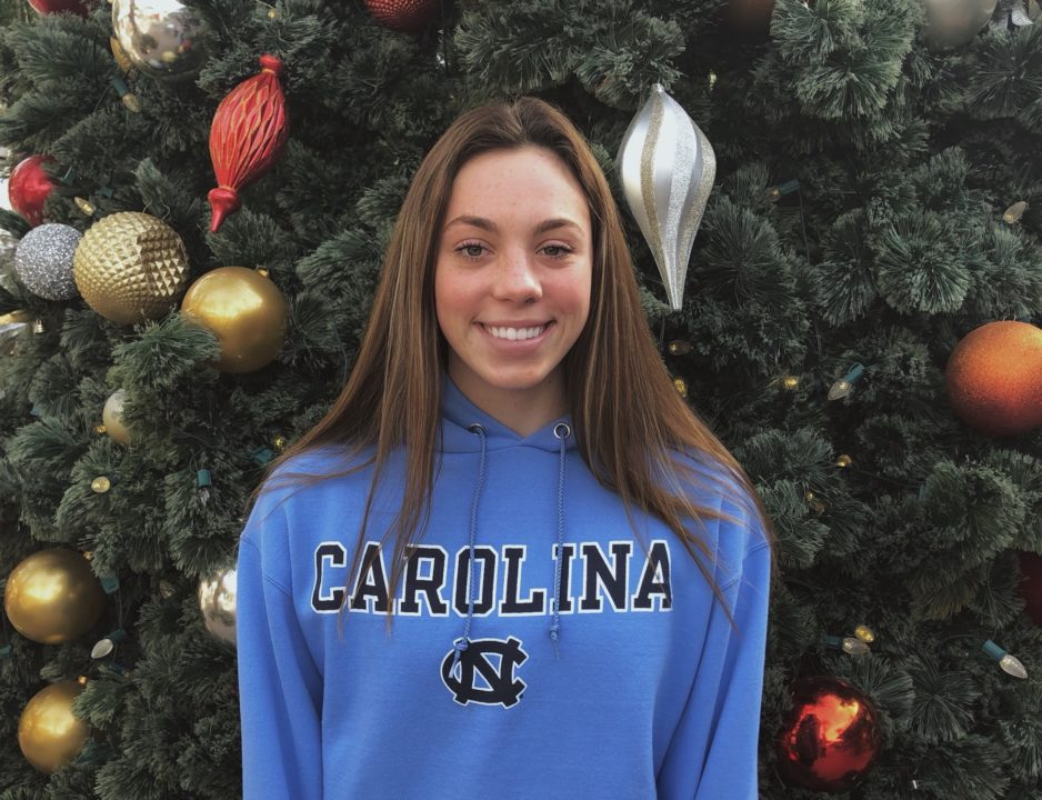 AZ DI Swimmer of the Year Greer Pattison Commits to UNC Chapel Hill (2021)