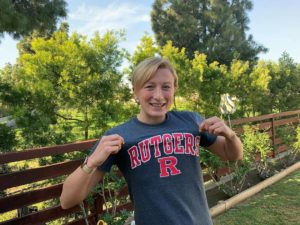 Rutgers' Cat Salladin Set For Comeback At West Coast Open Water Championship