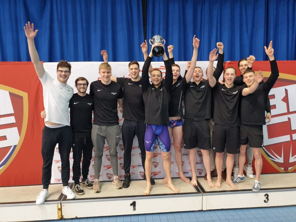 Stirling Captures BUCS Men's Trophy To Bust 32-Year-Long Loughborough Streak