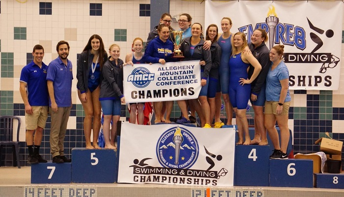 Alfred State Women Win AMCCs For First Conference Title In School History