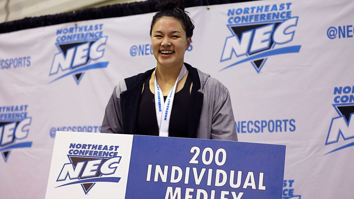 LIU's Amanda Peren Crushes NEC 200 IM Record on Day 2; Bryant Extends Lead