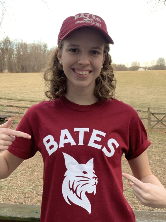 Bates College Receives a Commitment from Distance Swimmer Amy Townend