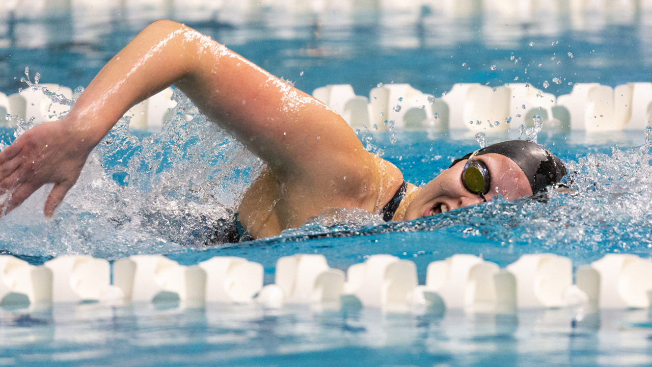 Kenyon's Ross, Anderson Earn Qualifying Marks at Fast Chance Meet